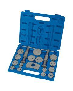 Draper Tools Expert 18 Piece Brake Piston Wind Back Tool Kit Product no: 22461