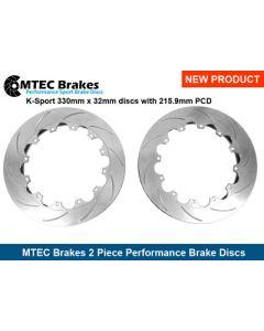 MTEC330.32.215 Brake Discs