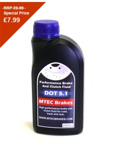 MTEC Brakes High Performance Brake And Clutch Fluid Dot 5.1