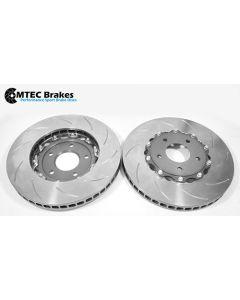 MTEC7008 - 2 Piece front brake disc and aluminium bells