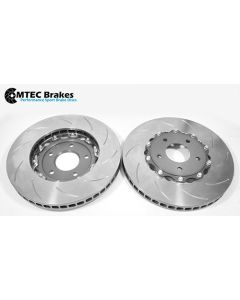 MTEC7005 - 2 Piece front brake disc and aluminium bells