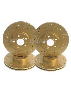 Gold Brake Disc Protective Coating