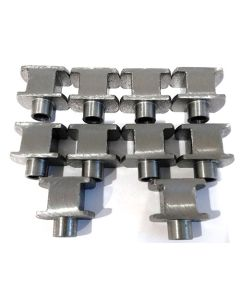 """Bobbins for Brembo """"H"""" type floating brake disc systems."""