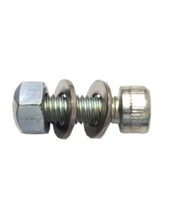 M8 x 25mm bolt, nut and 2 washers