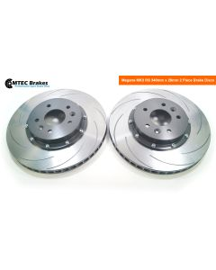 MTEC7006 - 2 Piece front brake disc and aluminium bells