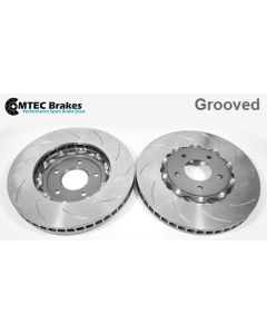 MTEC7010 - 2 Piece front brake disc and aluminium bells