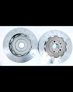 MTEC7022 - 2 Piece front brake disc and aluminium bells