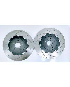 Nissan GTR R35 facelift 2010 onwards onwards fully assembled 390mm - Front Brake Discs - MTEC7051