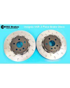 MTEC7060 - 2 Piece Front Fully Assembled Floating Brake